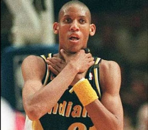 My favorite Reggie Miller moment!