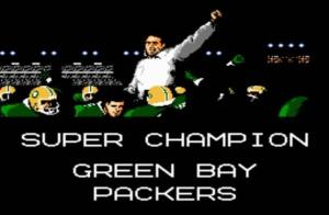 Tecmo Super Bowl was a big influence into the Packers!