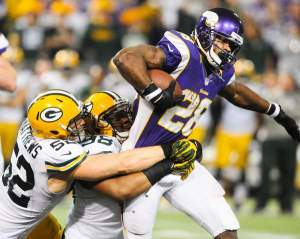 AP ran all over the Packers in 2012, can the Packers slow him down?