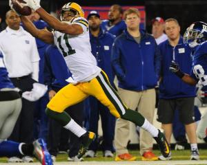 Jarrett Boykin was again Scott Tolzien's favorite target