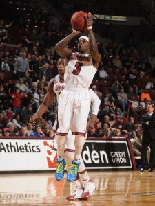Chaz Williams is the leader of UMass, how he goes, so goes UMass. (photo credit: Thom Kendall)