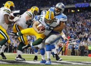 The Packers got dominated on Thanksgiving Day!