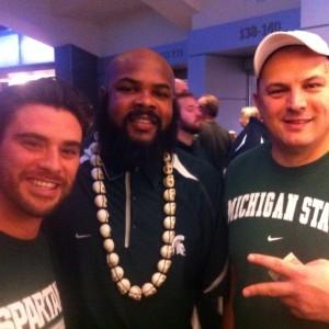 No big deal, met TJ Duckett in Indianapolis