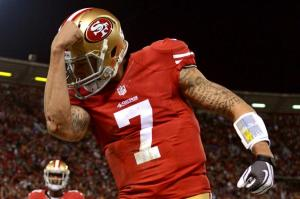 The Packers fans do not want to see Kaepernick doing this at Lambeau